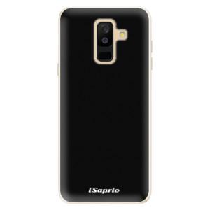 Silikonové pouzdro iSaprio 4Pure černé na mobil Samsung Galaxy A6 Plus