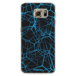 Silikonové pouzdro iSaprio (mléčně zakalené) Abstract Outlines 12 na mobil Samsung Galaxy S6