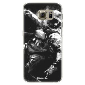 Silikonové pouzdro iSaprio (mléčně zakalené) Astronaut 02 na mobil Samsung Galaxy S6