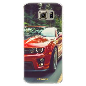 Silikonové pouzdro iSaprio (mléčně zakalené) Chevrolet 02 na mobil Samsung Galaxy S6