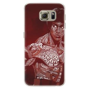 Silikonové pouzdro iSaprio (mléčně zakalené) Bruce Lee na mobil Samsung Galaxy S6