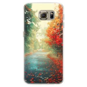 Silikonové pouzdro iSaprio (mléčně zakalené) Podzim 03 na mobil Samsung Galaxy S6