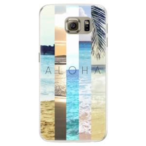 Silikonové pouzdro iSaprio (mléčně zakalené) Aloha 02 na mobil Samsung Galaxy S6