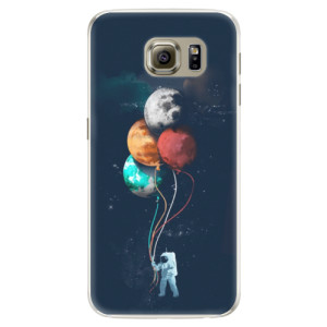 Silikonové pouzdro iSaprio (mléčně zakalené) Balónky 02 na mobil Samsung Galaxy S6
