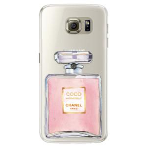 Silikonové pouzdro iSaprio (mléčně zakalené) Chanel Rose na mobil Samsung Galaxy S6