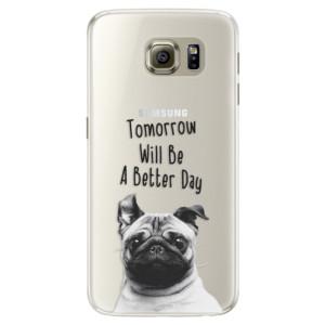 Silikonové pouzdro iSaprio (mléčně zakalené) Better Day 01 na mobil Samsung Galaxy S6
