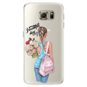 Silikonové pouzdro iSaprio (mléčně zakalené) Beautiful Day na mobil Samsung Galaxy S6