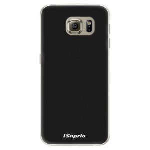 Silikonové pouzdro iSaprio 4Pure černé na mobil Samsung Galaxy S6