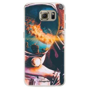 Silikonové pouzdro iSaprio (mléčně zakalené) Astronaut 01 na mobil Samsung Galaxy S6 Edge