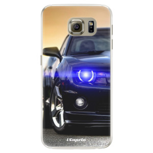 Silikonové pouzdro iSaprio (mléčně zakalené) Chevrolet 01 na mobil Samsung Galaxy S6 Edge