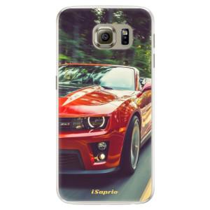Silikonové pouzdro iSaprio (mléčně zakalené) Chevrolet 02 na mobil Samsung Galaxy S6 Edge