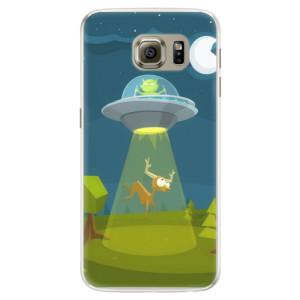 Silikonové pouzdro iSaprio (mléčně zakalené) Ufouni 01 na mobil Samsung Galaxy S6 Edge