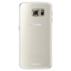 Silikonové pouzdro iSaprio 4Pure mléčné bez potisku na mobil Samsung Galaxy S6 Edge