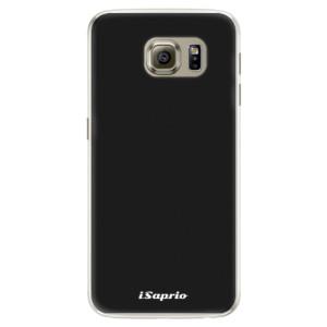 Silikonové pouzdro iSaprio 4Pure černé na mobil Samsung Galaxy S6 Edge