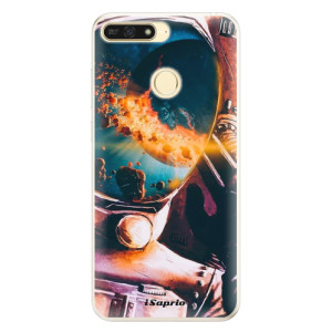 Silikonové pouzdro iSaprio (mléčně zakalené) Astronaut 01 na mobil Honor 7A