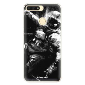 Silikonové pouzdro iSaprio (mléčně zakalené) Astronaut 02 na mobil Honor 7A