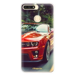 Silikonové pouzdro iSaprio (mléčně zakalené) Chevrolet 02 na mobil Honor 7A