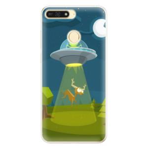 Silikonové pouzdro iSaprio (mléčně zakalené) Ufouni 01 na mobil Honor 7A