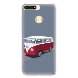 Silikonové pouzdro iSaprio (mléčně zakalené) VW Bus na mobil Honor 7A