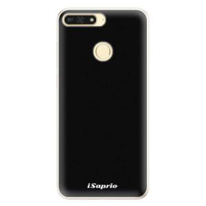 Silikonové pouzdro iSaprio 4Pure černé na mobil Honor 7A