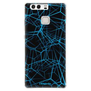 Silikonové pouzdro iSaprio (mléčně zakalené) Abstract Outlines 12 na mobil Huawei P9