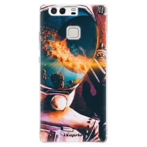 Silikonové pouzdro iSaprio (mléčně zakalené) Astronaut 01 na mobil Huawei P9