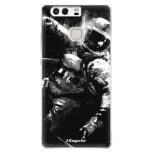 Silikonové pouzdro iSaprio (mléčně zakalené) Astronaut 02 na mobil Huawei P9