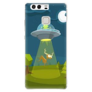 Silikonové pouzdro iSaprio (mléčně zakalené) Ufouni 01 na mobil Huawei P9