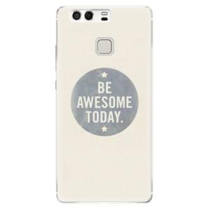 Silikonové pouzdro iSaprio (mléčně zakalené) Awesome 02 na mobil Huawei P9