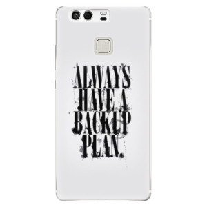 Silikonové pouzdro iSaprio (mléčně zakalené) Backup Plan na mobil Huawei P9