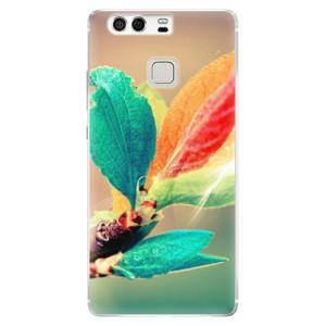 Silikonové pouzdro iSaprio (mléčně zakalené) Podzim 02 na mobil Huawei P9