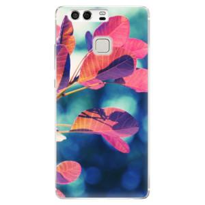 Silikonové pouzdro iSaprio (mléčně zakalené) Podzim 01 na mobil Huawei P9