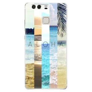 Silikonové pouzdro iSaprio (mléčně zakalené) Aloha 02 na mobil Huawei P9