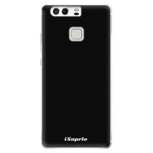 Silikonové pouzdro iSaprio 4Pure černé na mobil Huawei P9