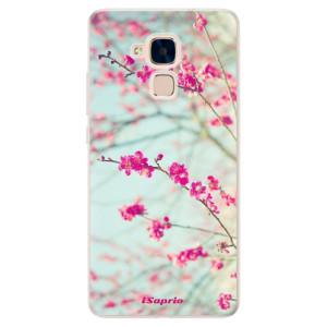 Silikonové pouzdro iSaprio (mléčně zakalené) Blossom 01 na mobil Honor 7 Lite
