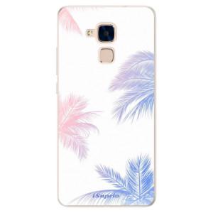 Silikonové pouzdro iSaprio (mléčně zakalené) Palmy 10 na mobil Honor 7 Lite