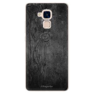 Silikonové pouzdro iSaprio (mléčně zakalené) Black Wood 13 na mobil Honor 7 Lite