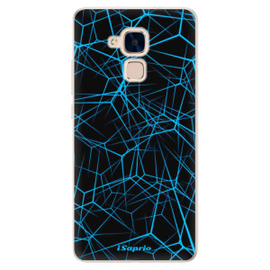 Silikonové pouzdro iSaprio (mléčně zakalené) Abstract Outlines 12 na mobil Honor 7 Lite