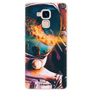 Silikonové pouzdro iSaprio (mléčně zakalené) Astronaut 01 na mobil Honor 7 Lite