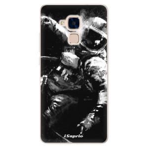 Silikonové pouzdro iSaprio (mléčně zakalené) Astronaut 02 na mobil Honor 7 Lite
