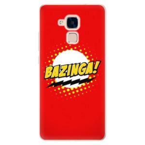 Silikonové pouzdro iSaprio (mléčně zakalené) Bazinga 01 na mobil Honor 7 Lite