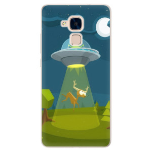 Silikonové pouzdro iSaprio (mléčně zakalené) Ufouni 01 na mobil Honor 7 Lite