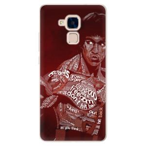 Silikonové pouzdro iSaprio (mléčně zakalené) Bruce Lee na mobil Honor 7 Lite