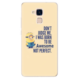 Silikonové pouzdro iSaprio (mléčně zakalené) Be Awesome na mobil Honor 7 Lite