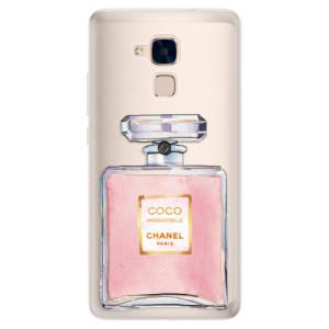 Silikonové pouzdro iSaprio (mléčně zakalené) Chanel Rose na mobil Honor 7 Lite