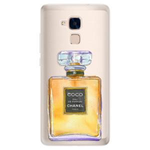 Silikonové pouzdro iSaprio (mléčně zakalené) Chanel Gold na mobil Honor 7 Lite