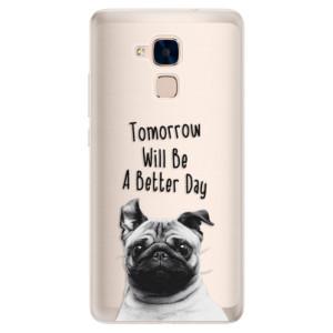 Silikonové pouzdro iSaprio (mléčně zakalené) Better Day 01 na mobil Honor 7 Lite