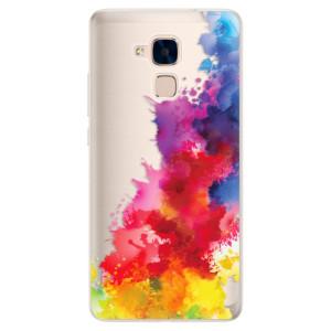 Silikonové pouzdro iSaprio (mléčně zakalené) Color Splash 01 na mobil Honor 7 Lite