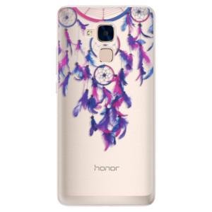 Silikonové pouzdro iSaprio (mléčně zakalené) Lapač snů 01 na mobil Honor 7 Lite