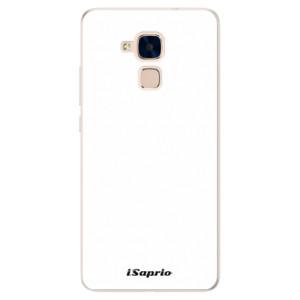 Silikonové pouzdro iSaprio 4Pure bílé na mobil Honor 7 Lite